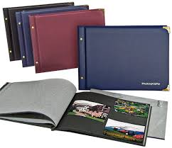 post bound photo album cumberland fm6650 black leaf medium photo albums the photo album