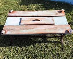 Diy Patio Table Top Diy Patio Table Top Tutorial Turn That Or Broken Table Top