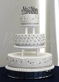 tiered wedding cakes beautiful 3 tier wedding cakes