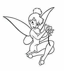 christmas tinkerbell coloring pages 535460