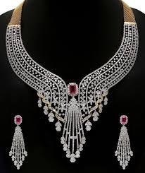 diamond sets design best 25 diamond necklace set ideas on diamond