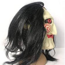 scary props scary jigsaw puppet mask props dress for less