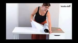 customiser un bureau en bois customiser un bureau avec de l adhésif venilia texturé