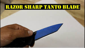 razor sharp benchmade tanto look out youtube