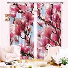Petal Pink Curtains 3d Floral Curtain Flower Curtains Shopping Beddinginn