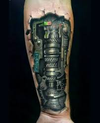 the 25 best mechanical arm tattoo ideas on pinterest men u0027s