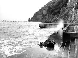 black and white positano photography travel photography beach