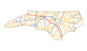 Wilmington Nc Map U S Route 421 In North Carolina Wikipedia
