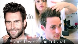 how to spike someones hair adam levine hair tutorial known from maroon 5 how to style like