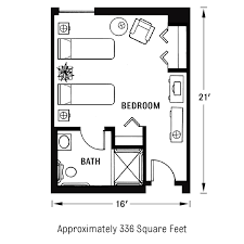 Most Efficient Floor Plans Tall Oaks Assisted Living