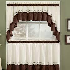 popular kitchen curtains and valances check it design ideas
