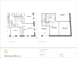 floor plans open kitchen and living room area downstairs option a