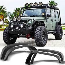 jeep wrangler unlimited flat fenders jeep jk fenders ebay