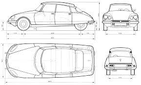 Blueprints Free by Blueprints De Autos Viejos Y Nuevos Citroen Ds Cars And Wheels