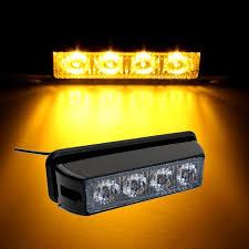 warning light bar amber car led emergency warning light bar 12v 24v amber yellow led strobe