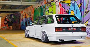 bmw e30 stanced passion wagon 1988 bmw 325i touring e30 from oz on itbs drive my