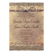 wedding invitations johnson city tn rustic country wedding invitations designs collections on zazzle