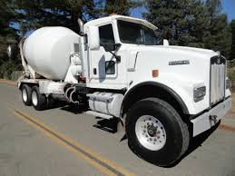 2004 kenworth truck 2004 kenworth w900 4 axle mixer truck opperman u0026 son