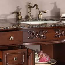 Granite Bathroom Vanities 48 Perfecta Pa 112 Bathroom Vanity Single Sink Cabinet