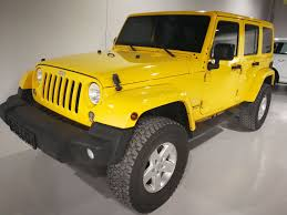 jeep yellow jeep wrangler sahara unlimited 2015 u2013 motorworks