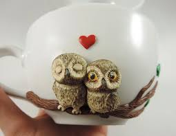 owl mug lovely owls mug mugs owls mug handmade mugs