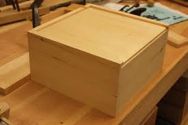 how to make a wooden box with sliding lid