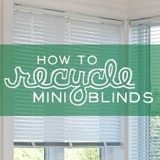 How To Shorten Vertical Blinds To Fit Window Can You Recycle Blinds How To Recycle Blinds