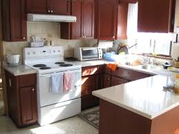 corian counter tops double galley contemporary kitchen with