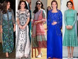 every single kate middleton wore on royalvisitindia so