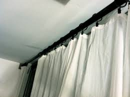 Pottery Barn Curtains Pottery Barn Curtain Rods Gallery Of Pottery Barn Scroll Brushed