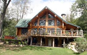 log home floor plans with garage modest log home plans home plan