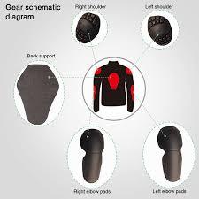gear motorcycle jacket jacket motocross racing reflective safety coat sportswear