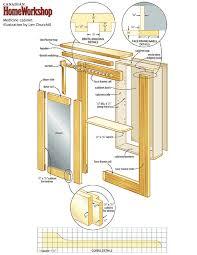 Bathroom Cabinet Plans Medicine Cabinet Makeover Ivan Medicine Cabinets