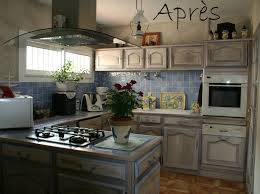 relooker cuisine chene renovation cuisine rustique chene repeindre meuble rustique