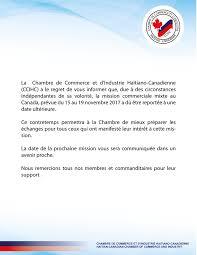 chambre commerce canada chambre de commerce et d industrie haitiano canadienne posts