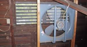 attic exhaust fan lowes attic fan vented into attic issues for air vent