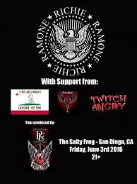 richie ramone san diego ca friday june 3rd 2016 by