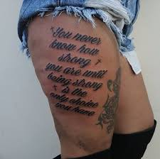 50 must try quote tattoos for with meaning 2018