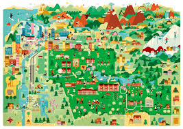 Portland State University Map by This Is Reed