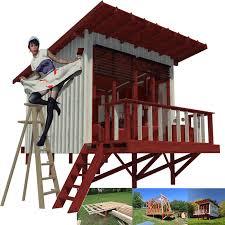 beach cabin plans