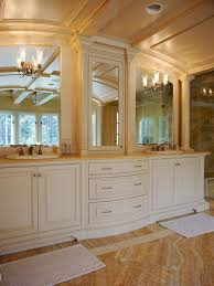 mirrors in bathrooms traditional bathroom vanity and mirror set