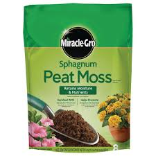 Homedepot by Miracle Gro Sphagnum Peat Moss 85278430 The Home Depot