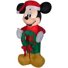Mickey And Minnie Outdoor Christmas Decor by Disney Christmas Inflatables Outdoor Christmas Decorations