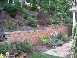 Retaining Wall Design Ideas by Backyard Retaining Wall Designs Retaining Walls Asheville