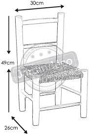 chaise bois pour enfant