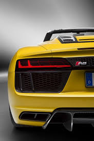 Audi R8 Exterior 2017 Audi R8 Spyder Opens Up In New York City
