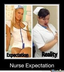 nurse expectations by marcoa84 meme center
