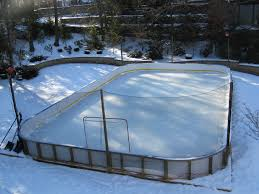 Backyard Hockey Rink Kit by Outdoor Ice Rink Accessories Outdoor Furniture Design And Ideas