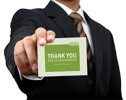 thanksgiving thank you cards for the modern business invitations