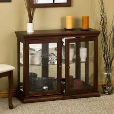 Curio Cabinets Under 200 Charlton Home Newark Console Curio Cabinet U0026 Reviews Wayfair